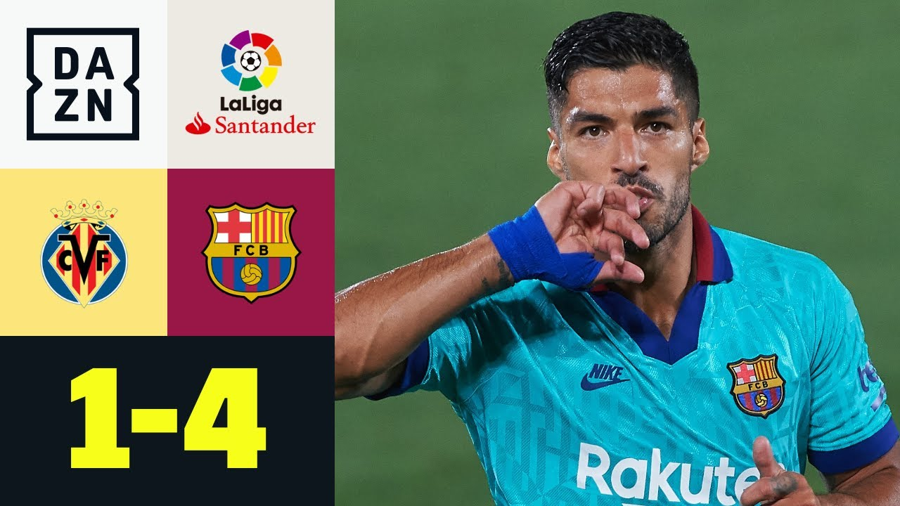 Il Barca vince e resta a -4 dalla vetta: Villarreal-Barcellona 1-4 | LaLiga | DAZN Highlights