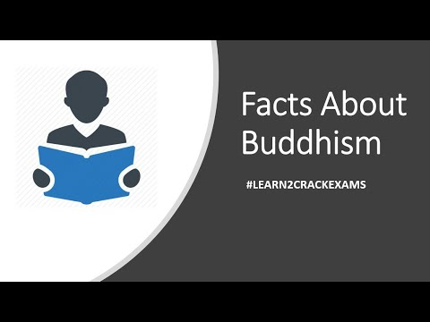 Facts about Buddhism | useful for competitive exams