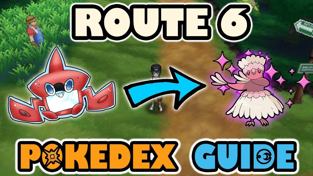 ROUTE 6 COMPLETE POKEDEX GUIDE - Pokemon Sun and Moon
