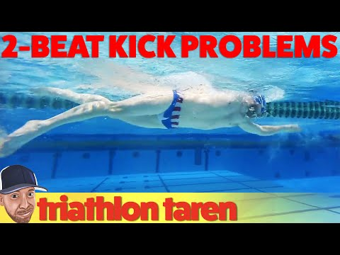 Swimming Two-Beat Kick vs Flutter Kick