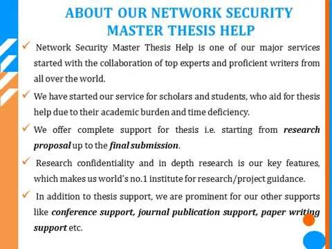 How to Write a Security Thesis on Different Subjects with the Aid of Basic Guidelines?