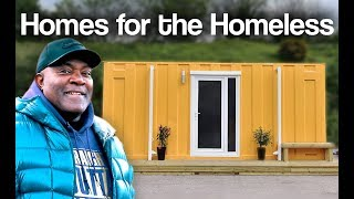 Turning shipping containers into homes for homeless: Meet Jasper