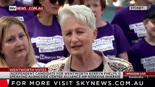 Skynews   Dr Kerryn Phelps AM for Wentworth 14 Oct   2018