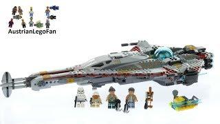 Lego Star Wars 75186 The Arrowhead - Lego Speed Build Review