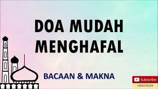 Download lagu DOA MUDAH MENGHAFAL MP3