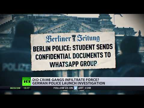 Arab 'mafia' infiltrates German state services – police union head