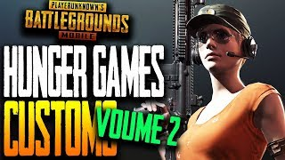 """HUNGER GAMES"" CUSTOM MATCHES VOL#2 PUBG Mobile"