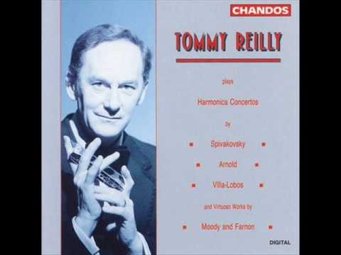 TOMMY REILLIY, Toledo, Spanish Fantasy for Harmonica and Orchestra (James Moody )