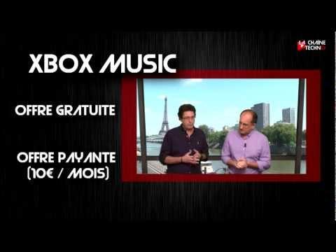 Microsoft dévoile Xbox Music, la musique 360