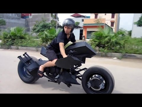 BATMAN BatMOBILE BiKE designed in VIETNAM :-)