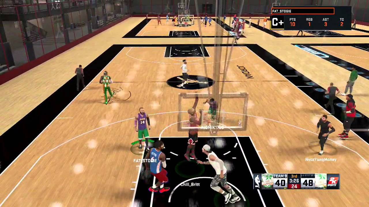 how to get posterizer 2k16 center