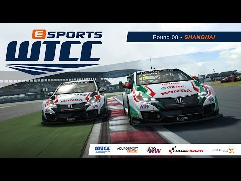 eSports WTCC | Round 08 – Shanghai [French Broadcast]