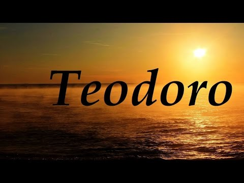 Teodoro, significado y origen del nombre