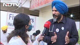 'Pind California' Provides Free Medical Service At Farmers' Protest Site