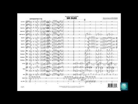 Sir Duke by Stevie Wonder/arr. Michael Philip Mossman