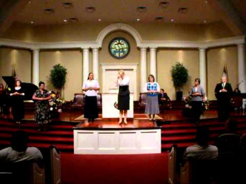 I Can Trust Jesus - Solid Rock Baptist Church Deaf Choir, Berlin, NJ
