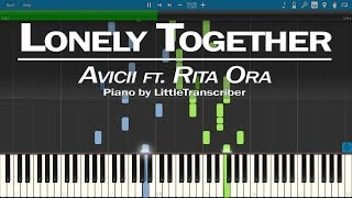 Avicii - Lonely Together (Piano Cover) ft Rita Ora by LittleTranscriber