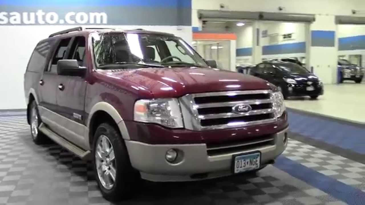 2007 Ford Expedition El Ed Bauer 1f140261b