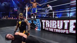 Download The Shield vs. Rey Mysterio & The Usos: Tribute to the Troops 2013 Mp3 and Videos
