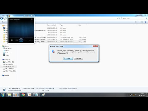 Windows Media Player cannot play the file Error for .mkv file solved