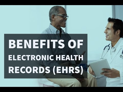 Benefits of Electronic Health Records (EHRs) in Aged Care
