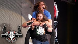 Huge brawl erupts between Matt Riddle and Killian Dain: TakeOver: Toronto (WWE Network)