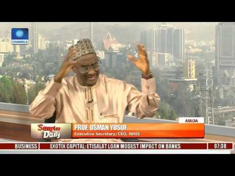 "HMO System In Nigeria Is A ""Copy & Paste"" - Usman Yusuf Pt 1"