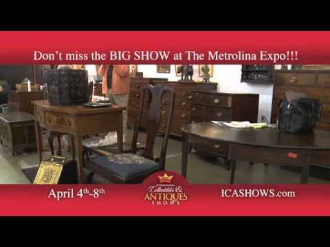 Charlotte's April Antique Show At Metrolina Expo
