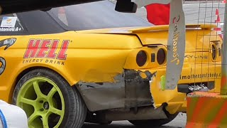 DRIFT 2015 IRAKLIO-CRASH TWO CARS