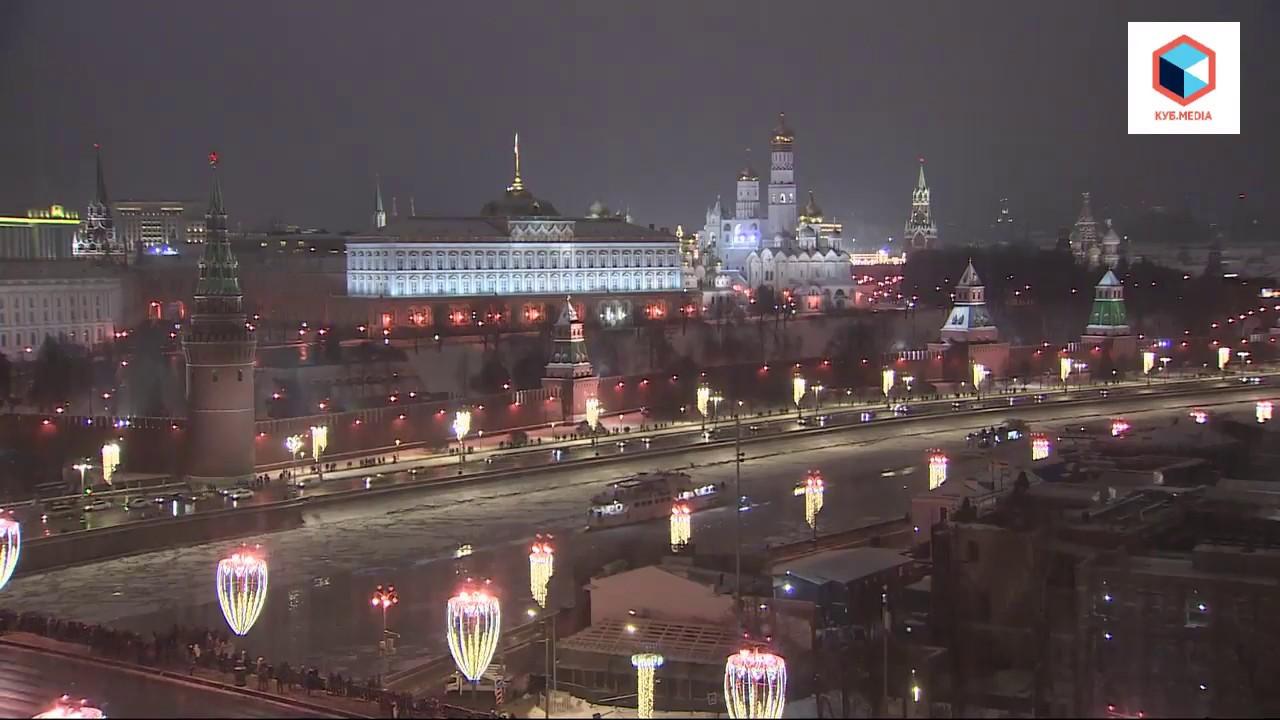 Новогодний салют в Москве 2019