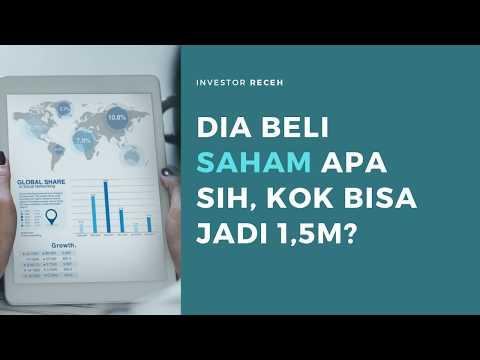 Saham | Cara Agar Investasi Saham Bisa Jadi 1M 🤑