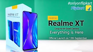 Realme XT - Official release Date Confirmed | India's First 64MP Quad Camera Smartphone, Realme XT