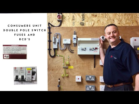 Understanding Your Consumer Unit (Fuse Board) Overcurrent & RCD Protection Plus Isolation Features