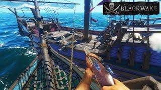 Blackwake RAMMING SPEED!  Epic Pirate Ship Battle - Let's Play Blackwake Gameplay