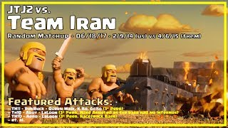 Clash of Clans -- JTJ2 vs Team Iran -- 06/18/17