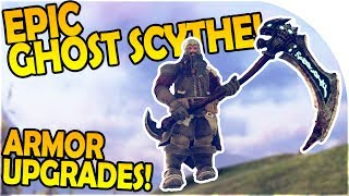 DARK AND LIGHT - EPIC GHOST SCYTHE WEAPON - ARMOR UPGRADES - Dark and Light Gameplay Part 7