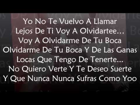 Prometo Olvidarte (Official Remix) - Tony Dize Ft. Yandel (Letra)