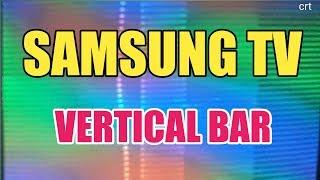 SamsungtvVertical_barHow to solve Samsung ultra slim crt tv vertical bar