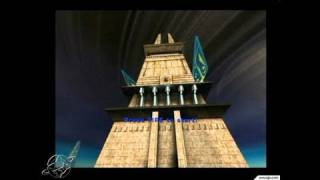 Unreal Tournament 2003 PC Games Gameplay - Two big towers