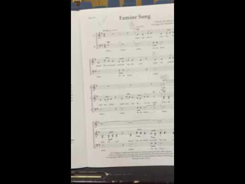 Famine song- bass