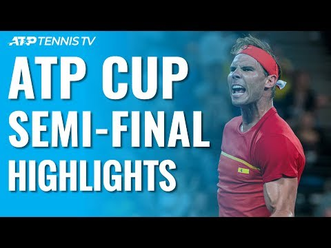 Djokovic, Nadal To Face Off In Serbia V Spain Final! | ATP Cup 2020 Semi-Final Highlights