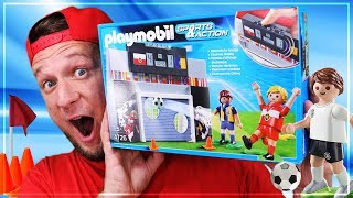 Playmobil Fussball DIE MEGA TORWAND Sports & Action 4726 Unboxing