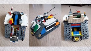 Танк для зомби апокалипсиса   обзор самоделки из LEGO