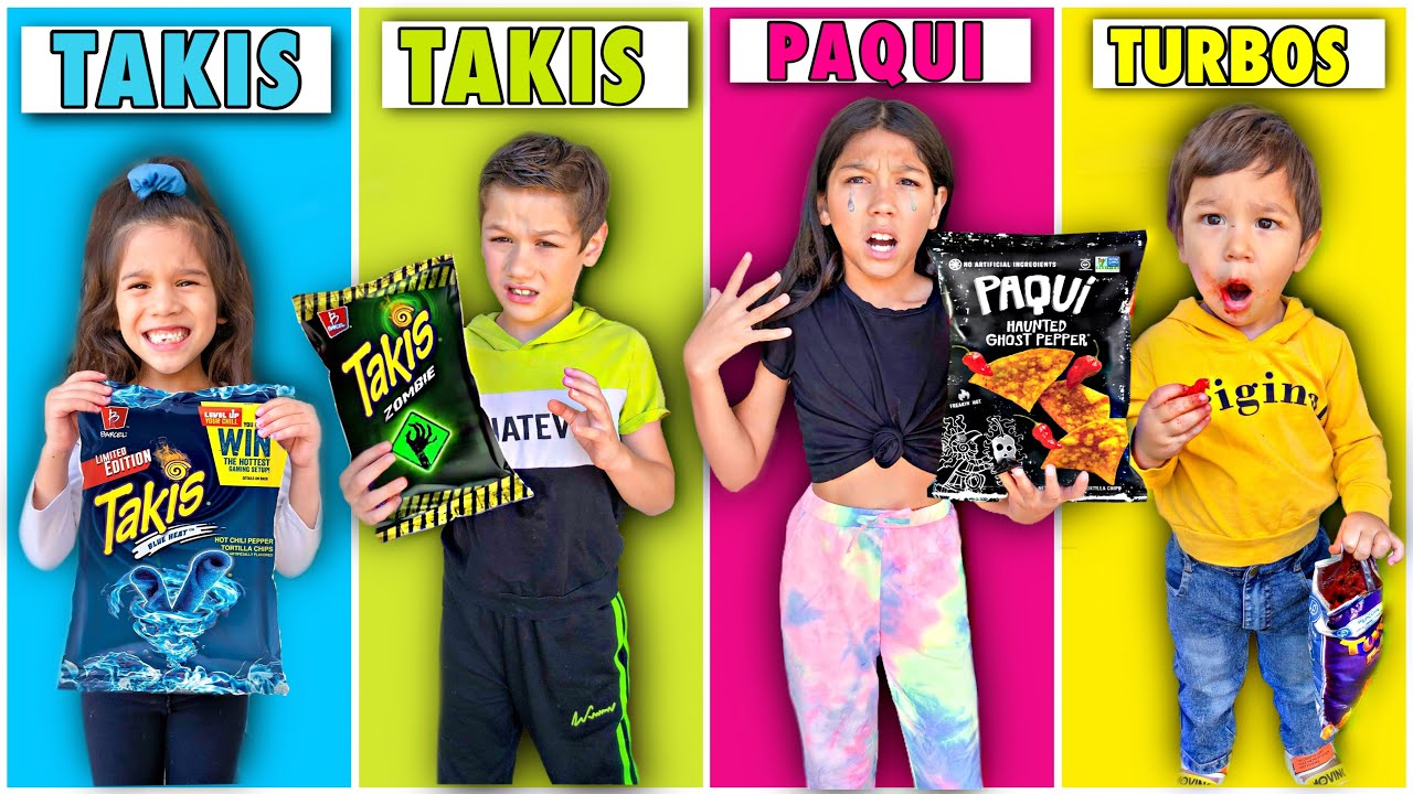 LAST TO STOP EATING SPICY CHIPS WINS MYSTERY PRIZE!! Part 2 **Kids Went Crazy**