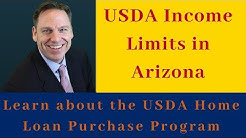 What are the USDA Home Loan Income Limits in Arizona