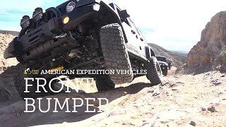 AEV Front Bumper Installation