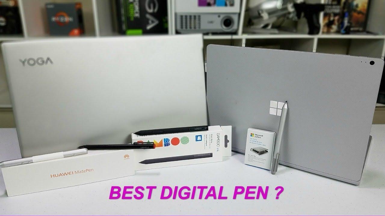 Best Windows Digital Pen ? 4 pens tested !