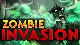Dota 2 Zombie Invasion