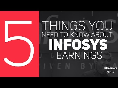 5 Things You Need To Know About Infosys Earnings