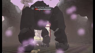 Dungeon Quest Samurai Palace Golem Boss Glitch - Roblox